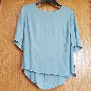 NWT Chelsea 28 Baby Blue Top